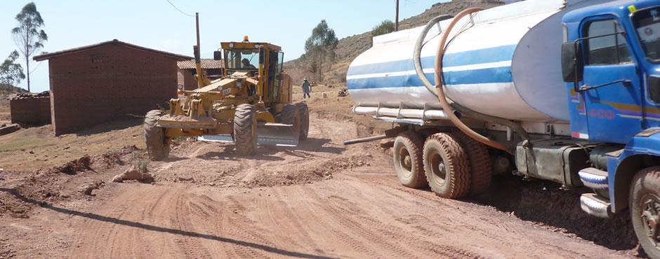 Construcción de carreteras afirmadas
