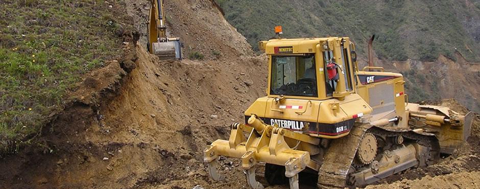 Excavaciones en material suelto